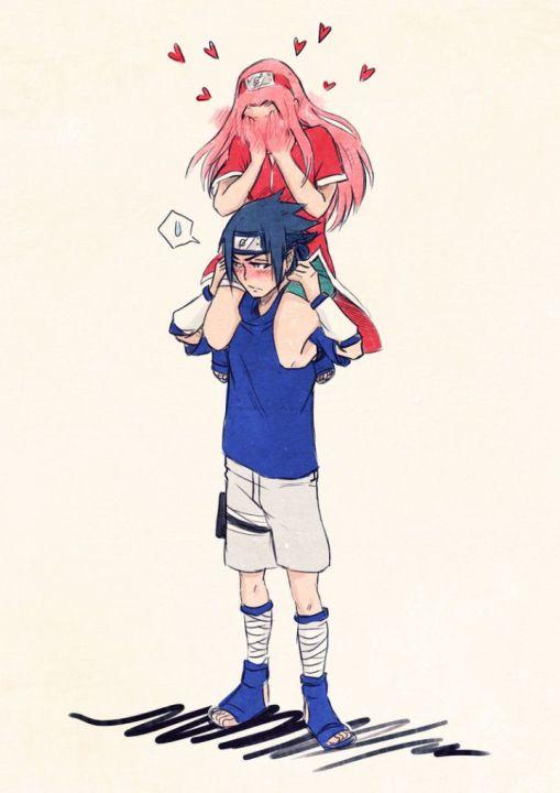 Naruto Team 7 Wallpaper Cute Sasusaku Love Time For Genin Wattpad