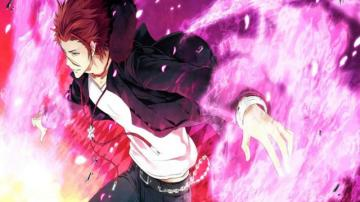 Kings Fall Wallpaper Flame Mikoto Suoh Short Story K Project Briliant Red