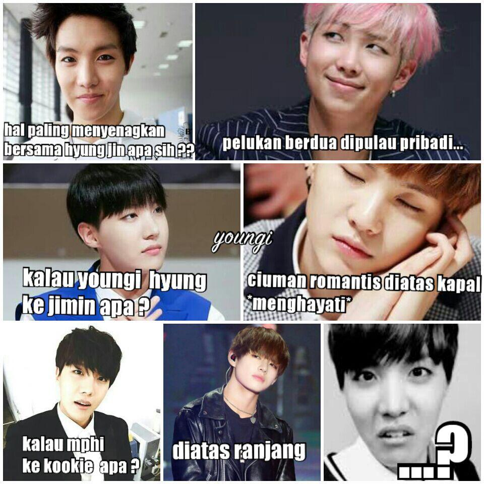meme comik BTS part II vkookTaekook namjin yoonmin