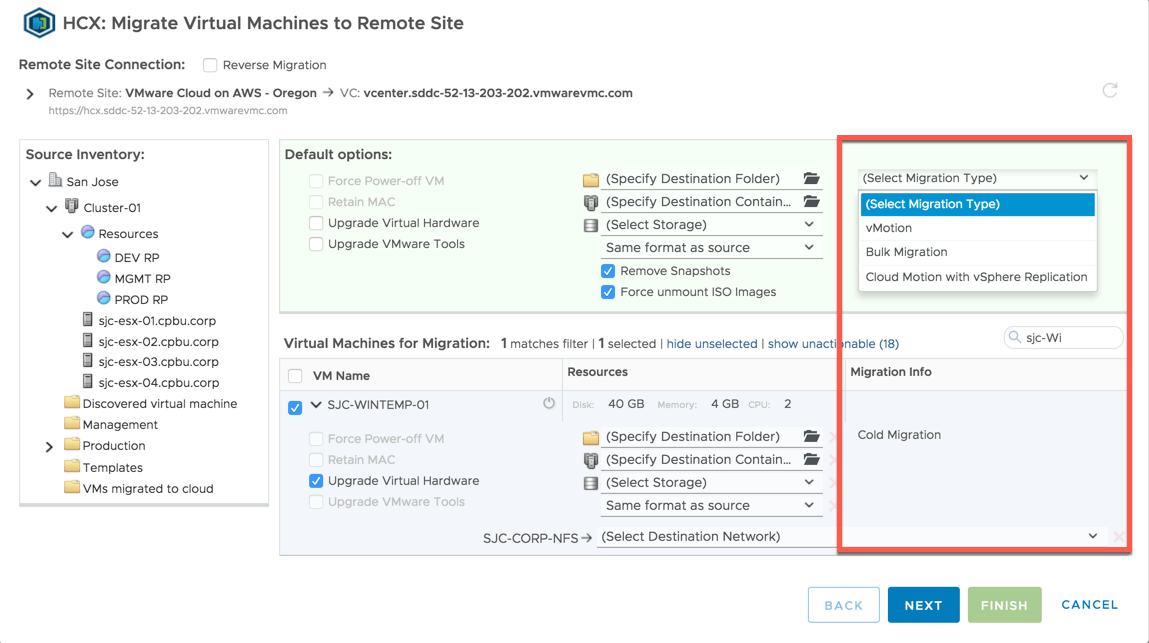 Learning Hybrid Cloud Extension (HCX) Part 2: Migration Types