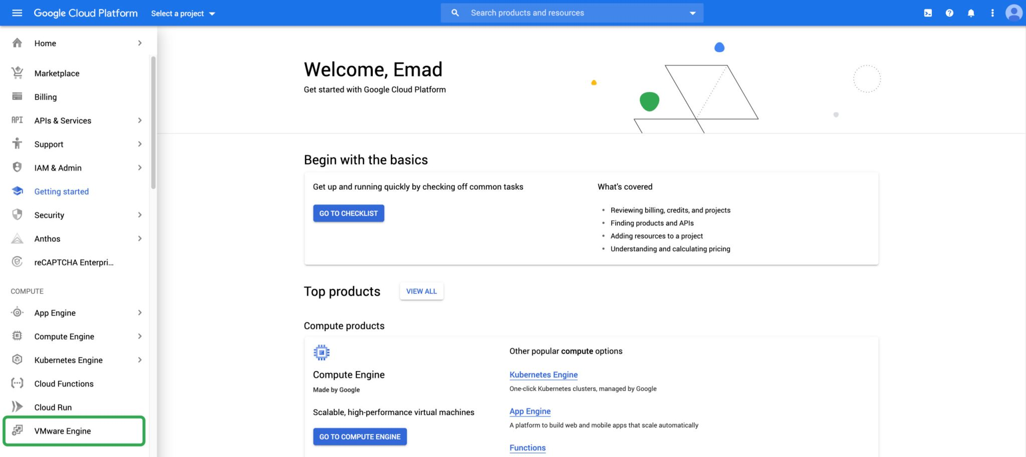 Introduction to Google Cloud VMware Engine
