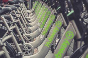 biking Boston