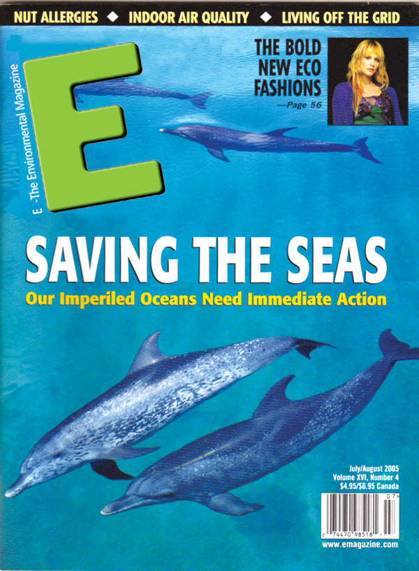 E - The Environmental Magazine : July-August 2005