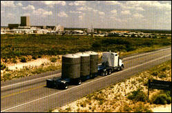 """Will transport of nuclear waste to WIPP become a """"mobile Chernobyl""""?"""