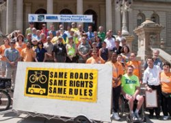 © John Lindenmayer, League of Michigan Bicyclists' width=