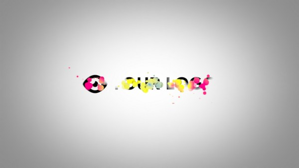 Colorful Particles Logo