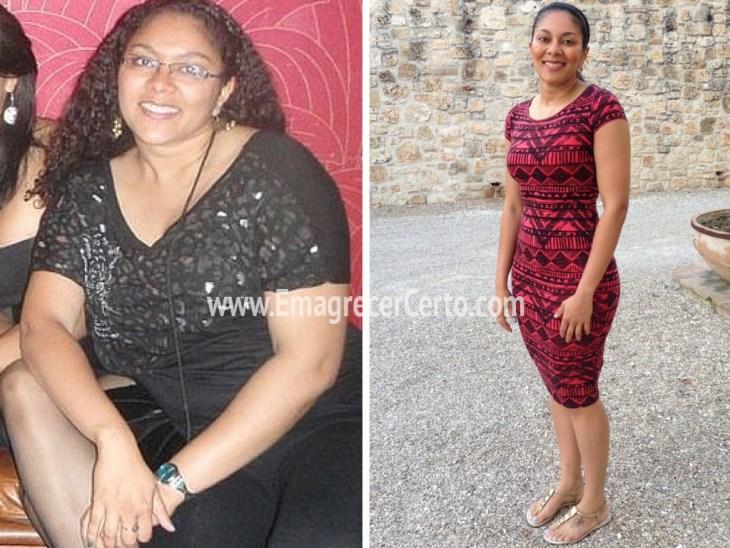 antes e depois emagrecimento motivacao