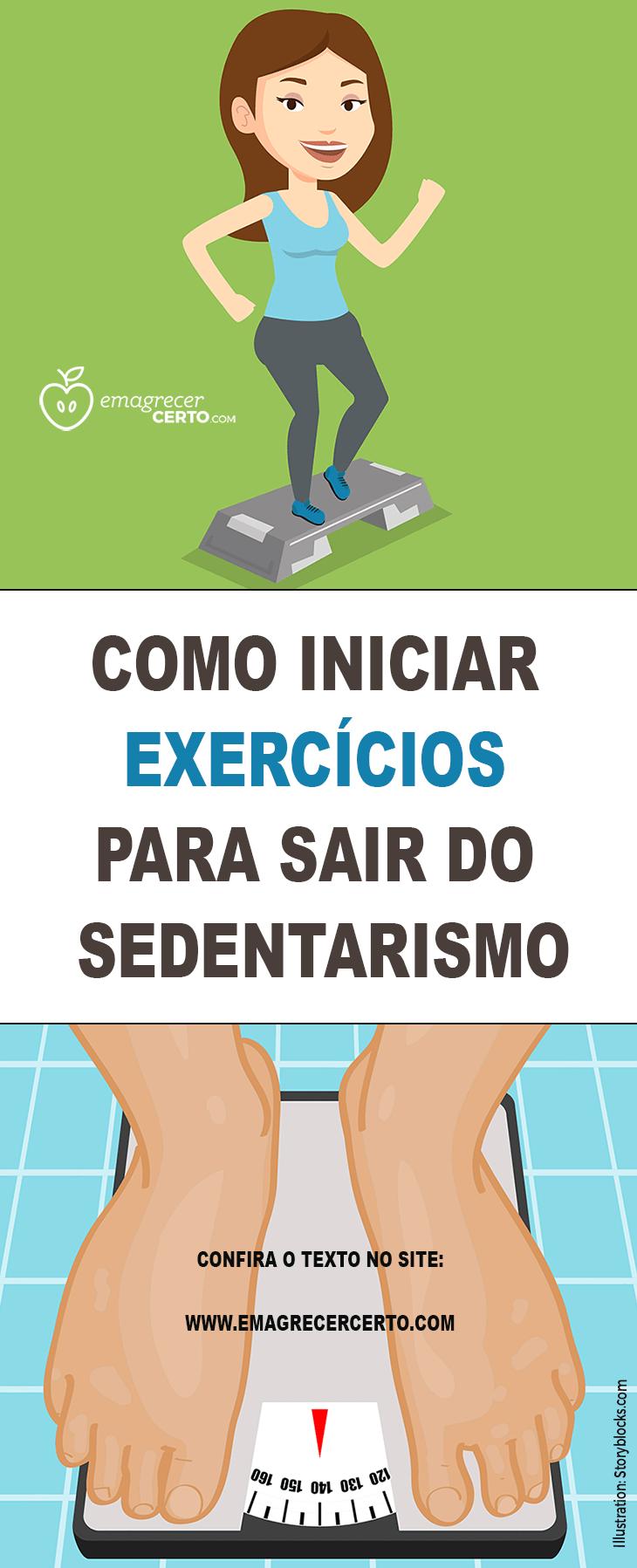 Superar o sedentarismo