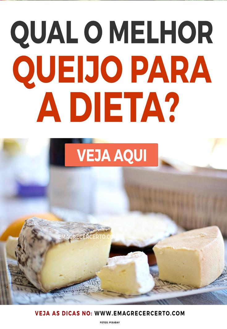 Qual o melhor queijo para a Dieta | Blog Emagrecer Certo
