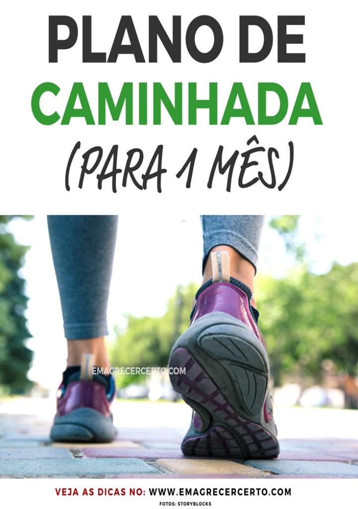 Plano de Caminhada para 1 mês | Iniciantes | Blog EmagrecerCerto.com