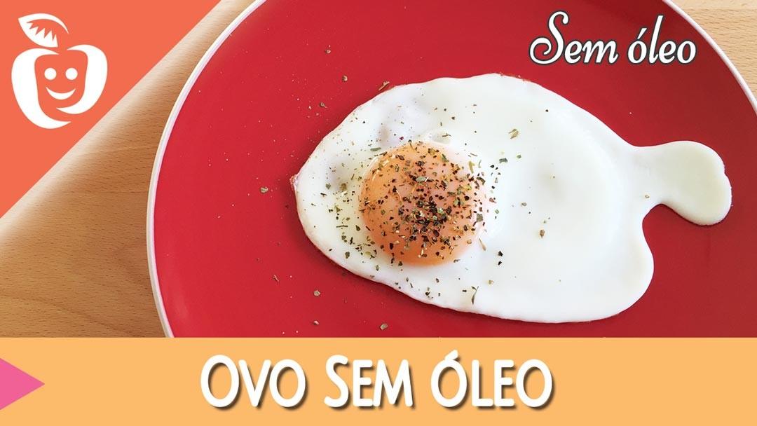 fritar ovo sem óleo