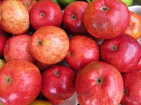 maçã emagrece