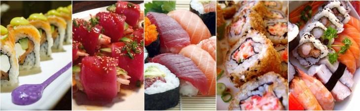 sushi variedades