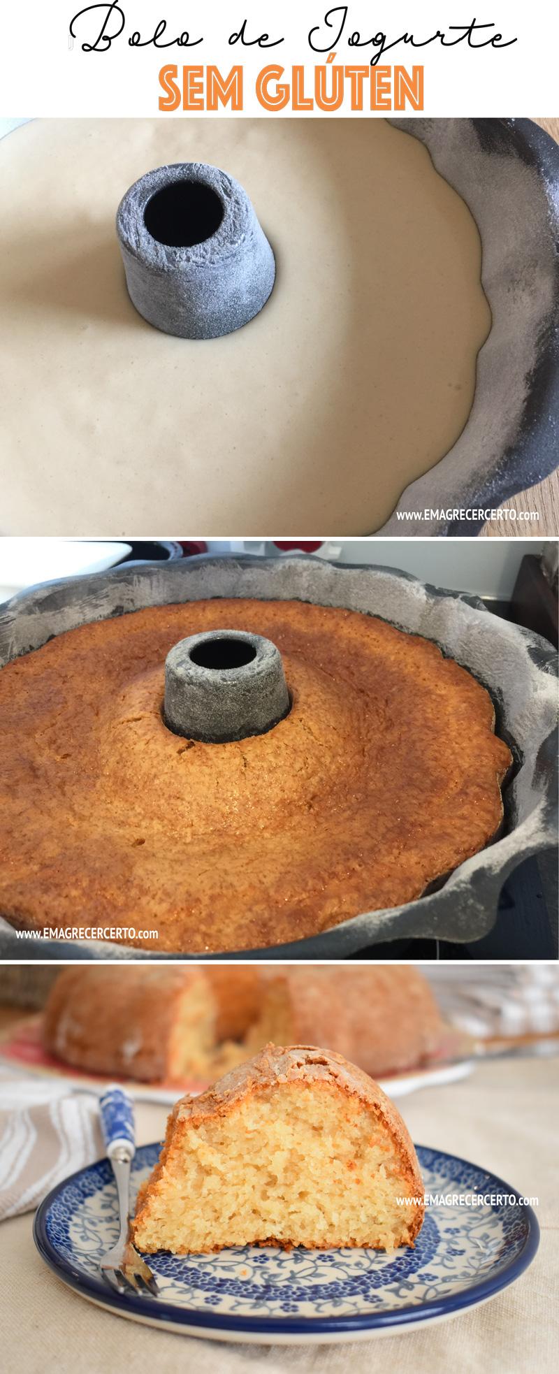 bolo de iogurte sem gluten emagrecer certo blog