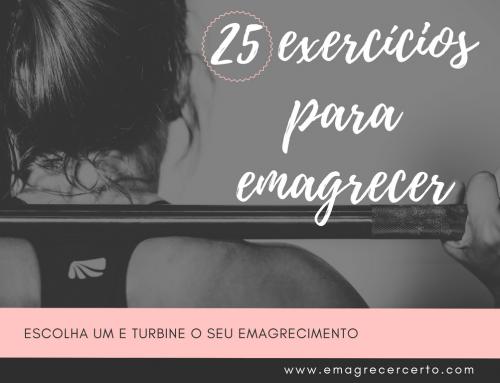 25 exercícios que vão turbinar o seu emagrecimento