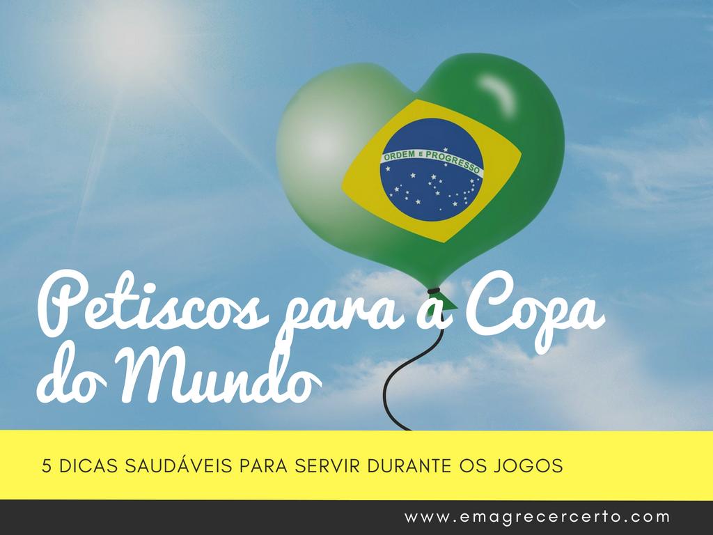 Petiscos para a Copa do Mundo