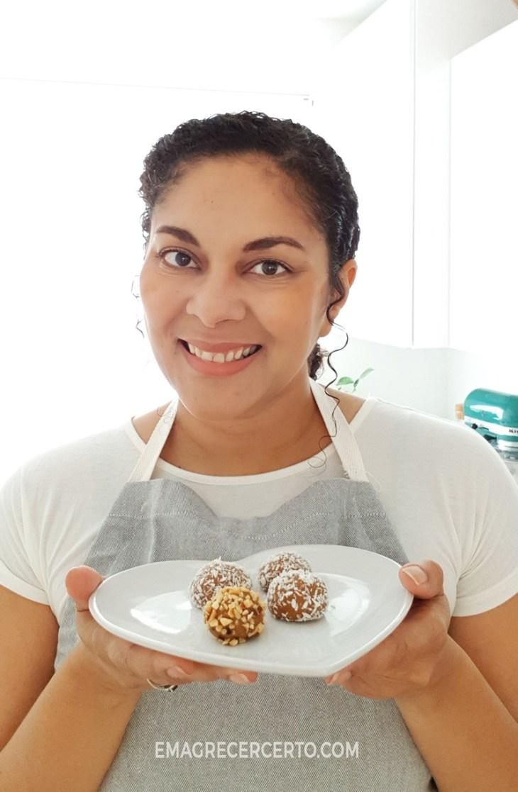 Docinho funcional blog Emagrecer Certo Culinarista Yamily