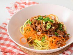 Ragu de carne | Emagrecer Certo | Low carb, paleo, sem lactose, sem gluten