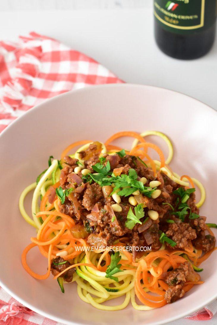 Ragu de carne | Low carb | Emagrecer Certo #emagrecer #receita #lowcarb #paleo #receitasaudavel