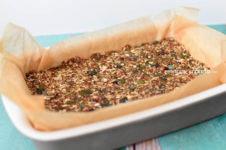 Aprenda como fazer barra de cereal para os lanches | Blog Emagrecer Certo #saudavel #lanches #receitas #reeducacaoalimentar