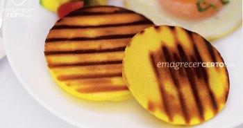 Pão Low Carb mega fácil | no Blog EmagrecerCerto.com #lowcarb #receitafacil #reeducacaoalimentar #receitasaudavel