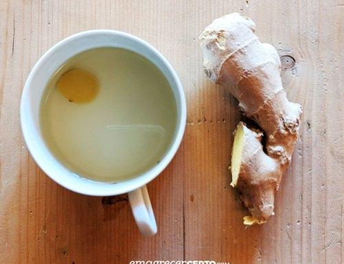 Chá de gengibre fresco e termogênico