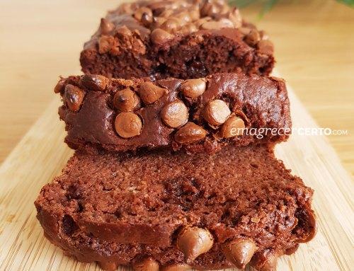 Bolo de Chocolate Sem Glúten e Fofinho