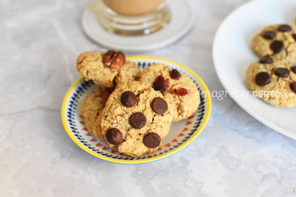 biscoitos saudáveis de aveia