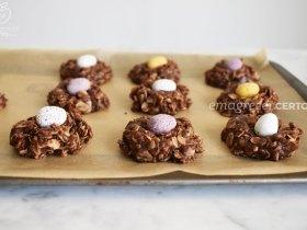 ninhos de chocolate para fazer na páscoa