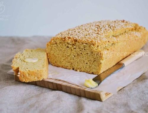 Pão de forma low carb | Sem glúten | Sem lactose