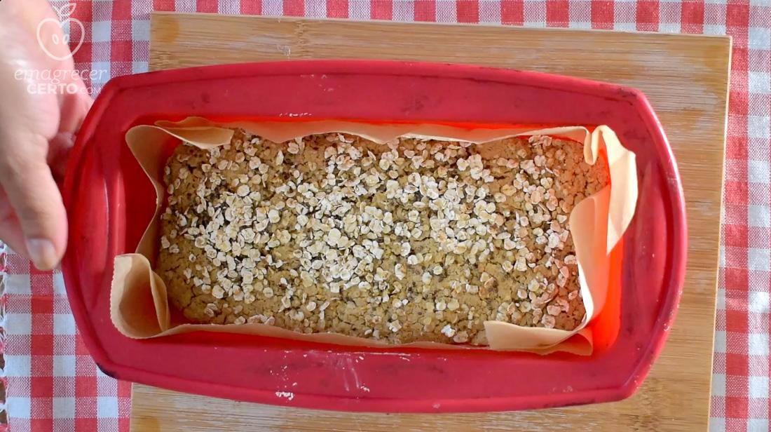 Pão de aveia saudável do blog Emagrecer Certo