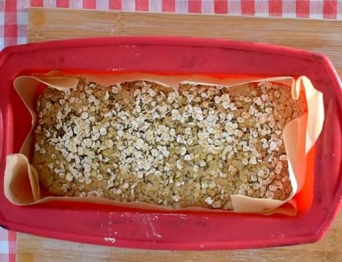 Pão de aveia saudável (sem fermento instantâneo)