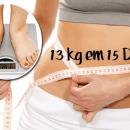 Essa dieta é única e com ela você emagrece 13kg em 15 dias