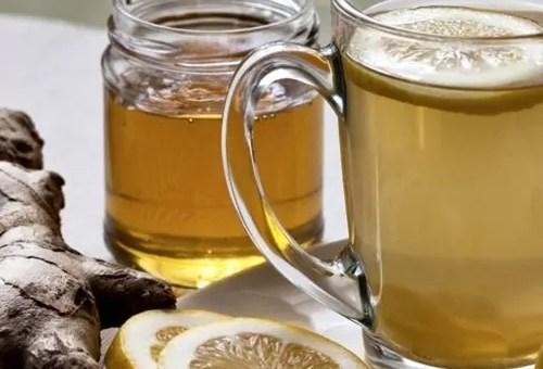 Chá detox de gengibre detona 8kg por mês!