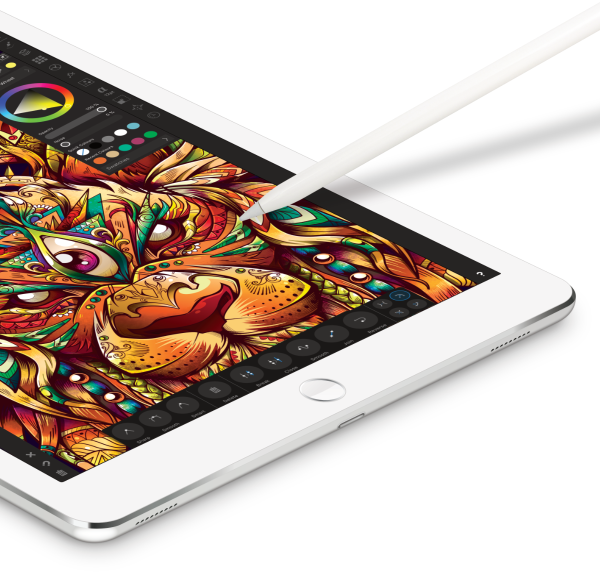 iPadwithSample1200px Press Release: Affinity Designer for iPad has landed!