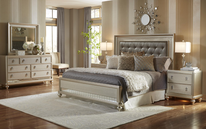 bedroom furniture - miskelly furniture - jackson, mississippi