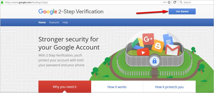 Gmail tricks and hacks - enable two-factor authentication