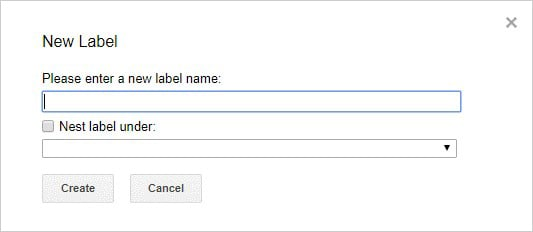 Gmail tricks and hacks - labels