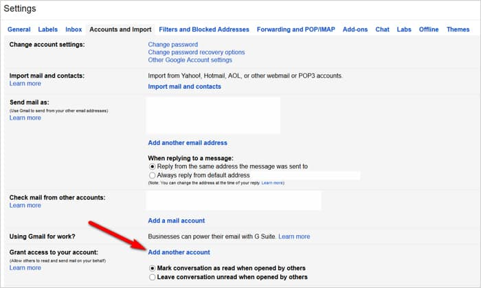 Gmail tricks and hacks - delegate Gmail account