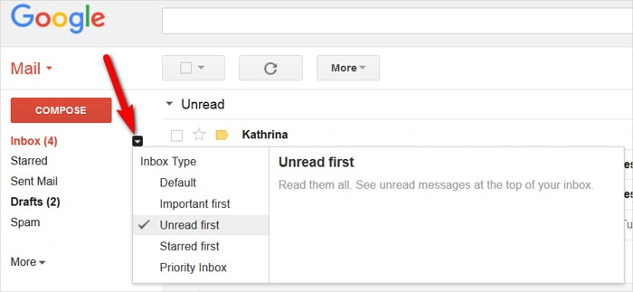 Gmail tricks and hacks - rearrange inbox