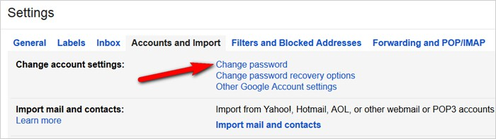 Gmail tricks and hacks - change password regularly
