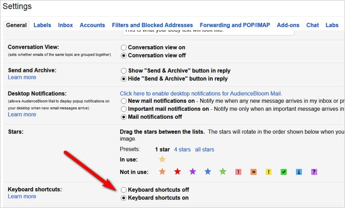 Gmail tricks and hacks - keyboard shortcuts