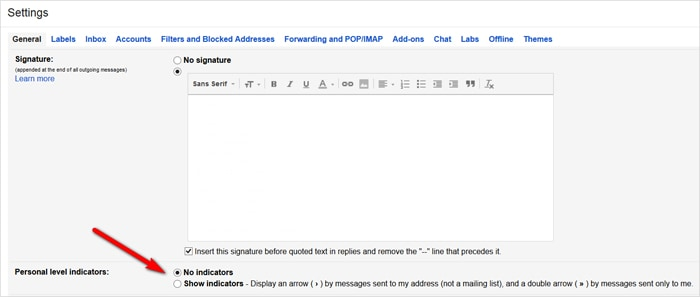 Gmail tricks and hacks - flag messages from a mailing list