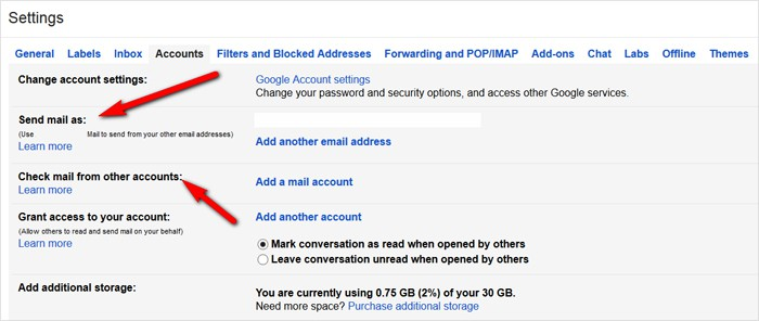 Gmail tricks and hacks - send and receive emails from another email account