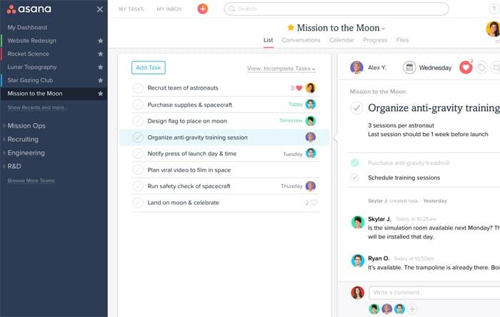 Gmail tool - Asana