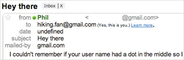 plus dot in email