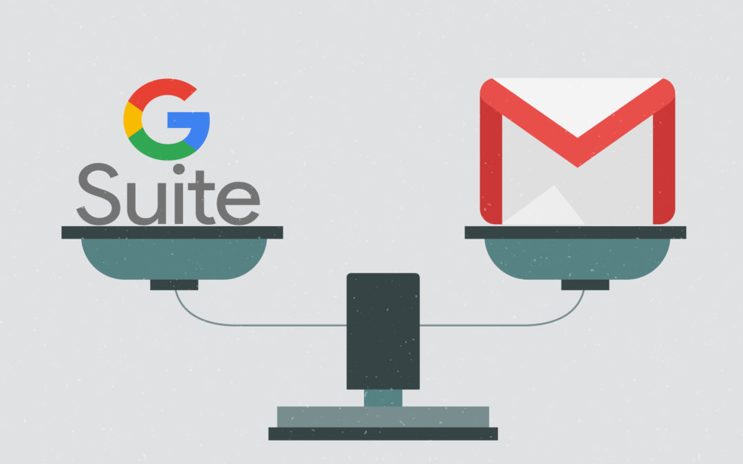 G Suite vs Gmail 7 Main Differences