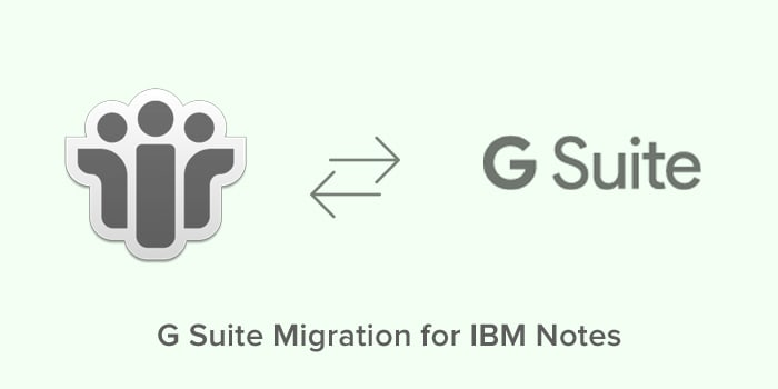 G Suite Migration for IBM Notes
