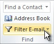 outlook filter email