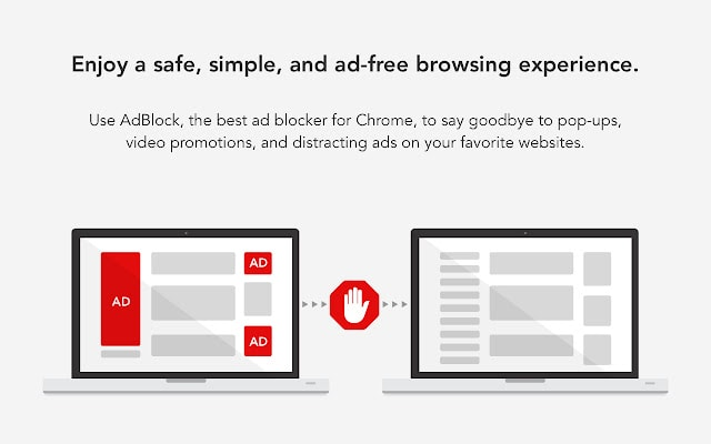 adblock chrome productivity extension